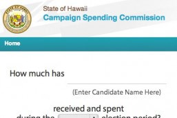 Campaign Spending Commission: Data Visualization Application