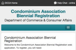 Condominium Association Registrations